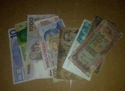 Foreign Money Banknotes