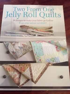 Jellyrolll Sewing Quilting Patchwork Book. VGC