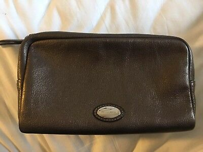 Limited Edition Goat Leather Mulberry Wash Bag