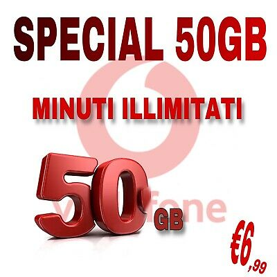 Special Unlimited 50Gb Clienti Già Vodafone Min E Messaggi Illimitati €6 Coupon