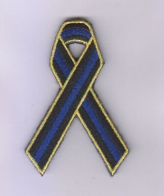 Thin Blue Line, Ribbon, Patch, Australia, Police, TBL, Tactical