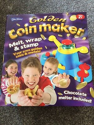 Golden Coin Maker Fun And Exciting Chocolate Toy For Adults