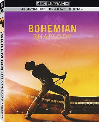 BOHEMIAN RHAPSODY  (4K ULTRA HD ) Blu Ray Region free
