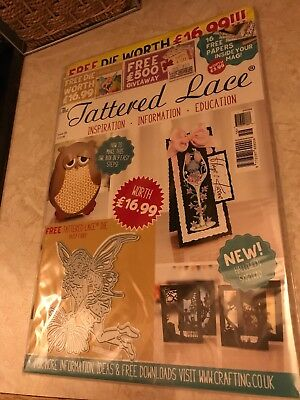 Tattered Lace Magazine Issue 58 with Daisy Fairy Die
