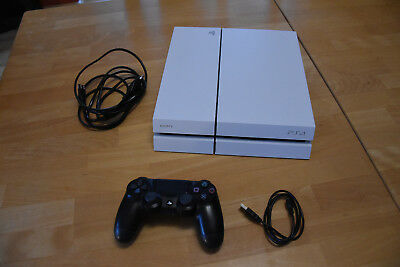 Sony PlayStation 4 - PS4 - Konsole (500GB, weiß) [CUH-1216A]