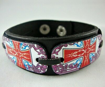 Women's Girl's Leather Bracelet B2
