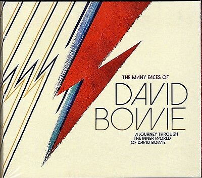 The Many Faces Of David Bowie~BRAND NEW 3 CD BOX SET~Free Fast 1st Class Mail