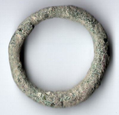 Ancient Celtic Ring Money 800-500Bc  / Ancient Proto Money /collectible #3