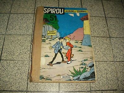 album journal spirou - bd reliure n° 51