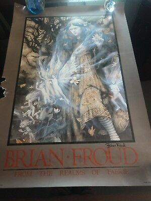 Twilight (From the Realms of Faerie) AUTOGRAPH  by Brian Froud FAIRY ART PRINT