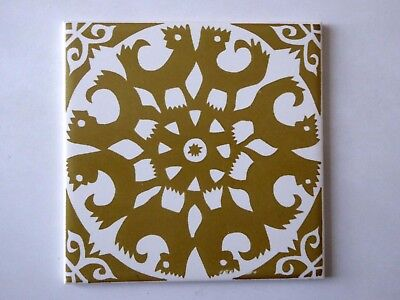 Perfect Peggy Angus Carter Ceramic Tile - Mid Century Modern Vintage Classic