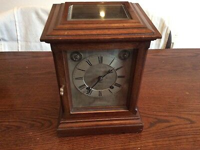 Winterhalder & Hofmeier Victorian Bracket Clock. Ting Tang quarter striking