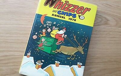 Whizzer and Chips annual 1978, good condition
