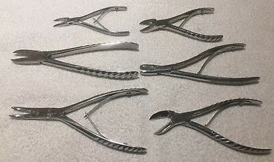 Antique /Vintage medical surgical equipment Stainless Steel 5 Pieces Good Con