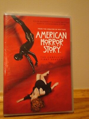 American Horror Story: Complete First Season (DVD, 2012, 3-Disc Set) NEW SEALED