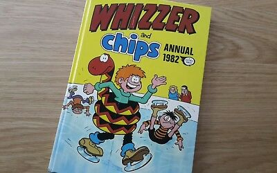 Whizzer and Chips annual,  1982, good condition