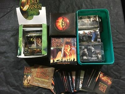 Lord Of The Rings Trading Card Game And Cards Job Lot Plus Dungeons And Dragons