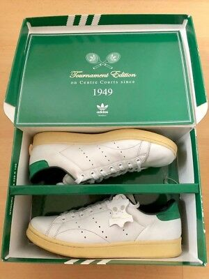 RARE Limited Edition 2009 Stan Smith Vintage 'Tournament Edition' White Green