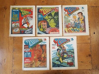 2000AD Comic - Progs 100-124.
