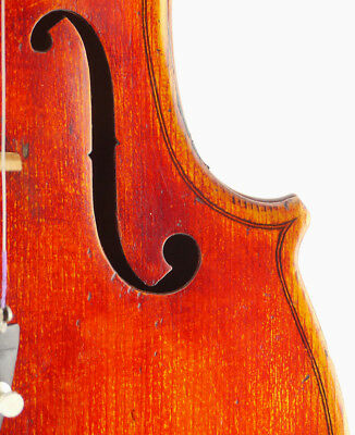 Fine, rare Carlo Bisiach labelled 4/4 Italian old, antique master violin