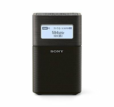 Sony Home Radio Srf-V1Bt: Fm / Am / Wide / Bluetooth / Nfc Black S With Tracking