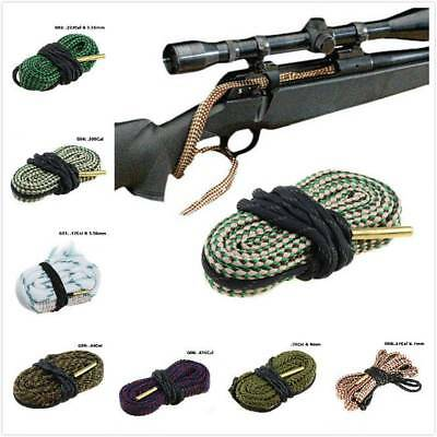 Bore Rope Cleaning Clean Calibre Rifle Barrel Gun Boresnake Cleaner Supply Tools