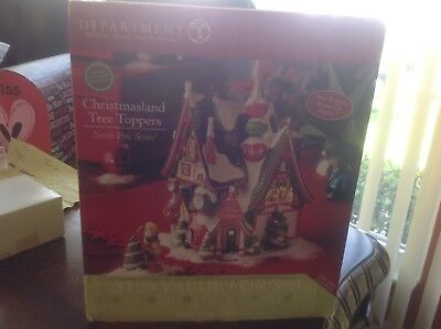 Dept 56 Christmas land tree toppers