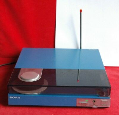 Blue Sony PS-Q7 Turntable JAPANESE Version with FM Transmitter