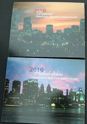 2010 United States Mint Uncirculated Coin Set with US Mint Packaging