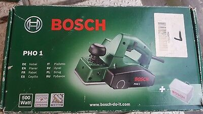 Bosch Green PHO 1 240v 82mm Electric Compact Planer 500W