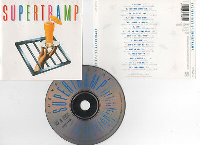 "SUPERTRAMP ""The Very best Of"" (CD) 15 Titres 1990"