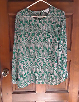 12 Maternity tops, dresses, tunics Lg and Med (all fit the same woman) Free Ship