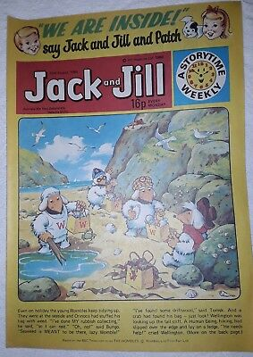 Vintage Jack and Jill Comic: 23rd August 1980