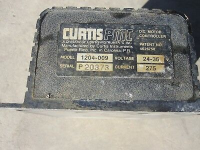 Curtis PMC 24V / 36V 275Amp DC Controller - Model 1204-009 for Club Car