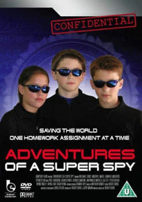 Adventures of a Super Spy *New/ sealed  family DVD*- FREEPOST/ FULLY GUARANTEED