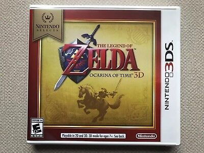 The Legend of Zelda: Ocarina of Time 3D (Nintendo 3DS, 2011) Select NEW Game