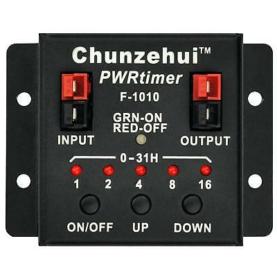 Chunzehui F-1010 Low Loss PWRtimer Power Switch ON/Off Timer ON Timer Off Module