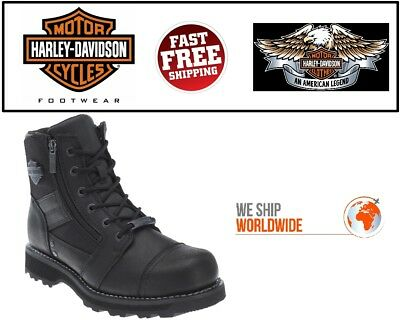 Harley-Davidson® D93369 Men's Bonham Leather Motorcycle Riding Boots