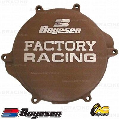 Boyesen Factory Racing Magnesium Clutch Cover For Suzuki RM 125 1998-2008