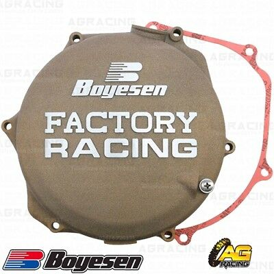 Boyesen Factory Racing Magnesium Clutch Cover For Suzuki RMZ 450 2008-2018