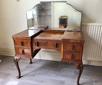Queen Anne Style 1930's Dressing Table