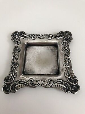 meriden silverplate co. antique Butter Pat Tray