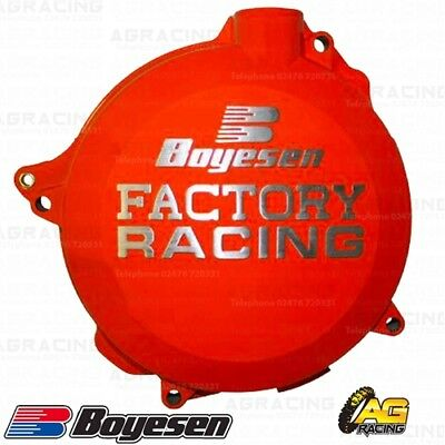 Boyesen Factory Racing Orange Clutch Cover For KTM SX 144 2014