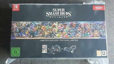 BRAND NEW SEALED - Collector Super Smash Bros. Ultimate - Nintendo Switch