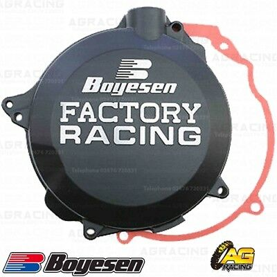 Boyesen Factory Racing Black Clutch Cover For KTM EXC SX 125-200 Husqvarna TE