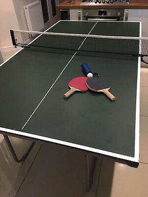 Butterfly Games Room Indoor (3/4 Size) Table Tennis Table with 2 Bats and 1 Ball