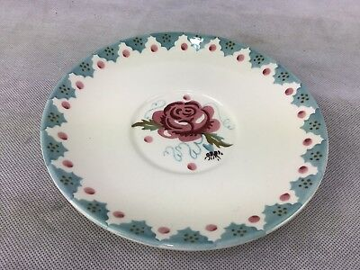 Emma Bridgewater Rose And Bee French Tea Plate.