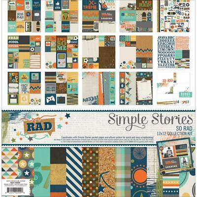 Simple Stories ~ SO RAD ~ Collection Kit