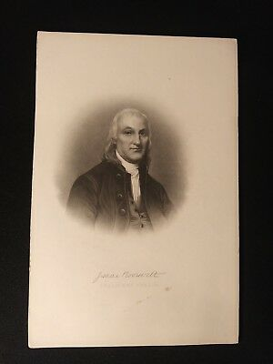 Antique Engraving Isaac Roosevelt President and Co-Founder Bank of New York