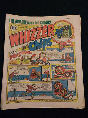Whizzer and Chips comics - 1982 - 23 issues